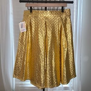 LuLaRoe Gold Metallic Madison - Elegant Collection